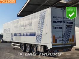 walking floor semi trailer Kraker CF200 3 axles 92m3 Liftachse 10mm Floor 2008