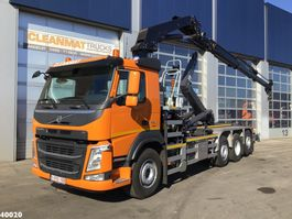 container truck Volvo FM 420 8x2 Euro 6 HMF 28 ton/meter laadkraan 2020