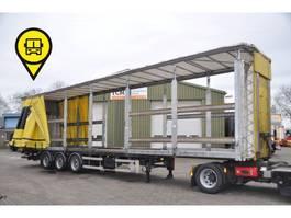 sliding curtain semi trailer Samro SAMRO 3 ASS ,MEGA ,KLEP, ROOF-LIFT 2001