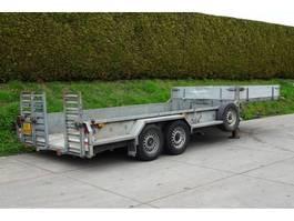 lowloader semi trailer Veldhuizen Dieplader oplegger 2001