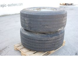 Wheel set truck part Michelin XTE2
