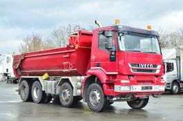 LKW Kipper > 7.5 t Iveco Trakker 340T45 E5 8x4 Retarder Leasing Ratenkauf ab 50% 2012