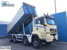 container truck MAN TGS 41 400 8x8, Manual, Airco, With steel container, Translift, Air pres... 2009