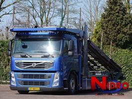 car transporter truck Volvo FM 330 ACCIDENT CAR TRANSPORTER 5 CARS 2013
