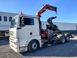 container truck MAN TGA 26.430 6x2 container Euro3 2006