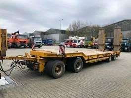 lowloader trailer Müller-Mitteltal T40 Kompakt Anhänger Tieflader 4 Achse 40 Ton 2007