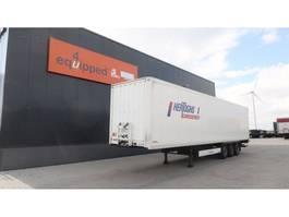 closed box semi trailer Krone TOP, D'Hollandia (2.000kg), schijfremmen, NL-oplegger, APK/LPK: 08/2020 2014