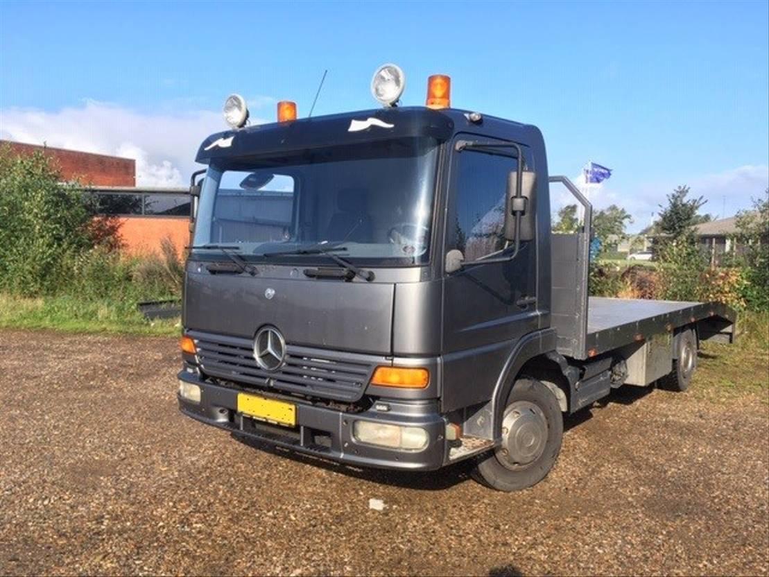car transporter truck Mercedes Benz Atego 816, euro 3 2003
