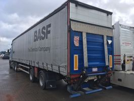 sliding curtain semi trailer HRD 2 aksel 2005