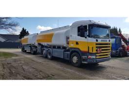 tank truck Scania 46000 Liter Tank Petrol Fuel Diesel ADR 2000