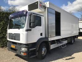 refrigerated truck MAN TGM 18.240 Gescheiden koelruimte's Koel / Vries 2009