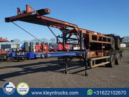 container chassis semi trailer Trailor 40 FT 2 AXLES BPW full steel 1986