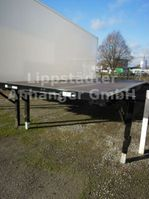 flatbed full trailer Kögel Plateau, BDF-System 7.450 mm lang, NEU 2016