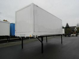 closed box car trailer Krone BDF-System 7.450 mm lang, LACK NEU Premium!! 2007