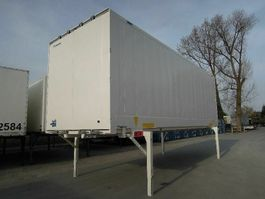 closed box car trailer Krone BDF-System 7.450 mm lang, FABRIKNEU! 2019