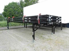 closed box car trailer Kögel PLATEAU, BDF-System, 7.450 mm lang, FABRIKNEU oh 2016