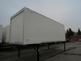 closed box car trailer BDF-System 7.450 mm lang, LACK NEU! 1999