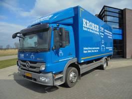 грузовик со сдвижной занавеской Mercedes Benz ATEGO 1224 L / 155.000 KM! / Schuifzeil R - Gesloten L 2012