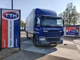 closed box truck > 7.5 t DAF CF85.410 Euro5 EEV | NL Redridgerator Truck | 9tons front axle 2012