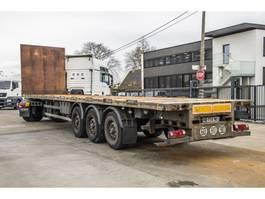 flatbed semi trailer LeciTrailer PLATEAU 2009