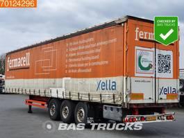 sliding curtain semi trailer Kögel S-24 Bordwande Edscha APK-1-2021 Bordwande 2005