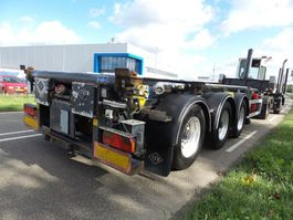 chassis semi trailer Feldbinder 30 ft tippingchassis whit rotory valve + ADR 2008