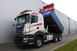 tipper truck > 7.5 t Scania R620 6X4 MANUAL RETARDER FULL STEEL HUBREDUCTION EURO 4 2007
