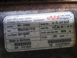 Axle truck part SAF