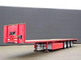 flatbed semi trailer Pacton T3-001 / SAF / 3 AXLE / PLATFORM 2009