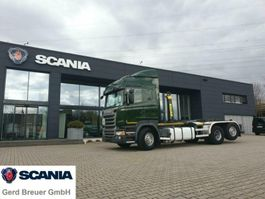 container truck Scania R450LB6X2*4HNA Abrollkipper Marrel Highline 2015