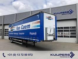 sliding curtain semi trailer Groenewegen DRO-12-10B //  City // Ama Loadlift 2000