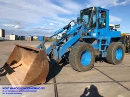 wheel loader Komatsu WA 180-3 2x Bucket+Forks+Sweeper 1999