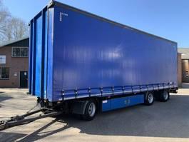 sliding curtain trailer Vogelzang Liftas, Schuif bumper/triangel, 3M Insteek, Rongen, TOP staat 2007