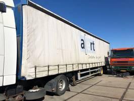 sliding curtain semi trailer Draco DTTA 1200 2000 1994
