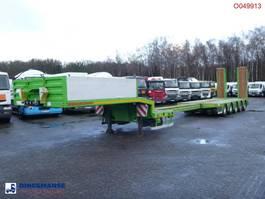 flatbed semi trailer Kaessbohrer 5-axle semi-lowbed trailer / 74000 kg / ext. 15.2 m 2013