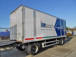 прицеп-закрытый короб Pacton 2 As Vrachtwagen Aanhangwagen Gesloten, WS-59-ZD 1997