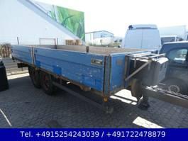drop side full trailer Müller-Mitteltal EAL-TA 8.000 KG Pritsche Anhänger