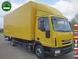 closed box truck > 7.5 t Iveco EuroCargo ML 75 E 16 P  HLB AHK LBW 2012