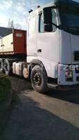 heavy duty tahač Volvo FH 12 420 6x4 + Pritsche + KRAN
