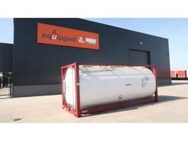 conteneur-citerne CIMC TOP: ONE WAY 20FT, 25.000L tankcontainer, L4BN, UN Portable, T11, steam ... 2018
