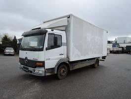 closed box truck > 7.5 t Mercedes Benz MERCEDES ATEGO 818 4X2 Atego 818 2002