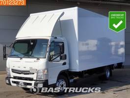closed box truck > 7.5 t Mitsubishi Fuso 7C18 3.0 DID 4X2 Ladebordwand Euro 6 2016