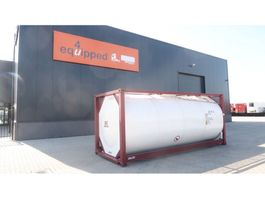 cisternový kontejner CIMC TOP: 20FT, 25.000L tankcontainer, L4BN, UN Portable, T11, steam heating,... 2017