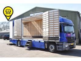 closed box truck > 7.5 t Mercedes Benz AXOR 1824 EURO5. 250996 KM 2008