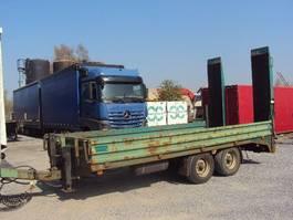 lowloader trailer Müller-Mitteltal 9,9to Tandem Tieflader Rampen 5,5 m BPW FSCHKL 3 2003