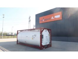 tank container CIMC TOP: ONE WAY 20FT, 25.000L tankcontainer, L4BN, UN Portable, T11, steam ... 2018