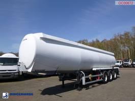 tank semi trailer semi trailer Trailor Fuel tank alu 40 m3 / 9 comp 2000
