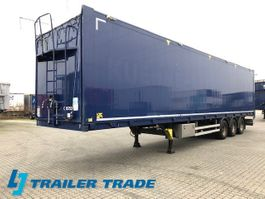 walking floor semi trailer Kraker 93 M3 2012
