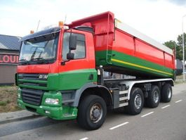 tipper truck > 7.5 t Ginaf X 4243 TS  8X4  COVERS+MANUAL+HOLLAND TRUCK 2002