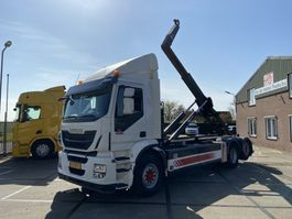 container truck Iveco AD260SY/PS CNG | Retarder | VDL Hooklift | Manual 2015